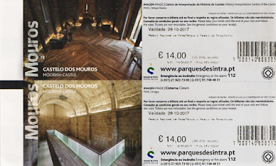 Castelo dos Mouros; Portugal; sem guia; Europa; Turismo; Sintra