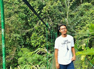 Blogger Eksis berbagi cerita dari hutan