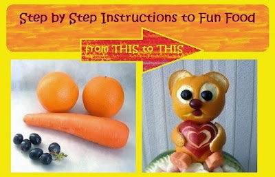 fruit carving step by step instructions
