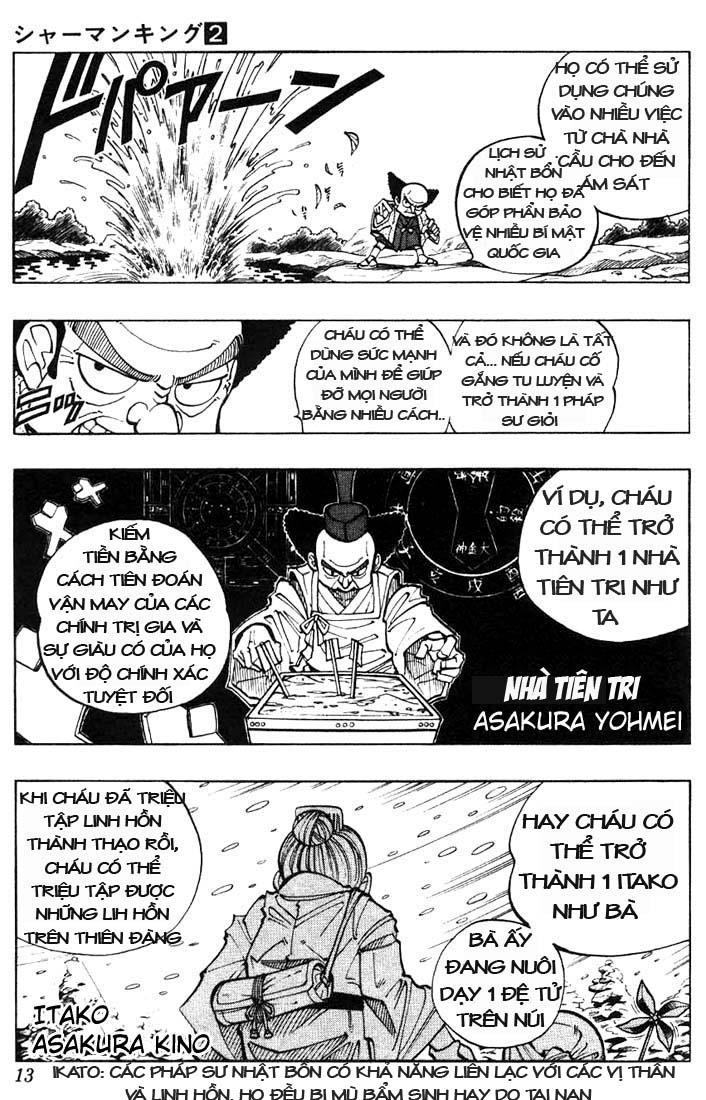 Shaman King [Vua pháp thuật] chap 9 trang 9