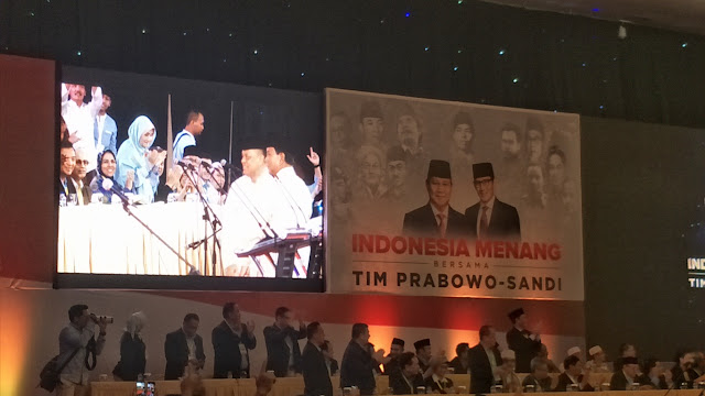 Gatot Nurmantyo Resmi Dukung Prabowo-Sandi