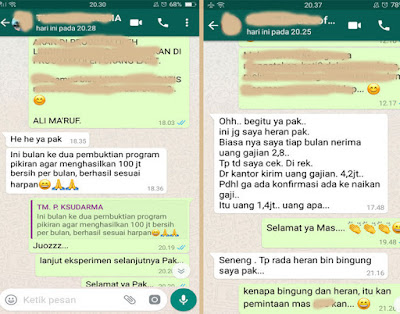 Testimoni th miracle, Ali ma'ruf