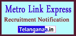 MEGA Metro Link Express for Gandhinagar and Ahmedabad Recruitment Notification 2017 Last Date 30-04-2017