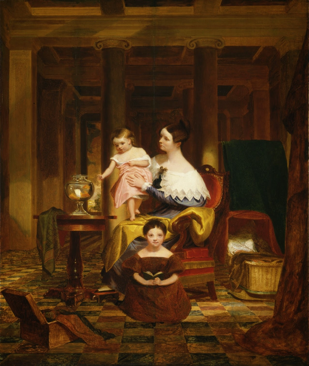 Samuel Morse ~ Gallery of the Louvre | Tutt'Art@ | Pittura ...