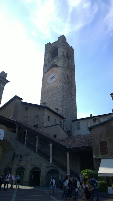 Bergamo Alta Clock Tower