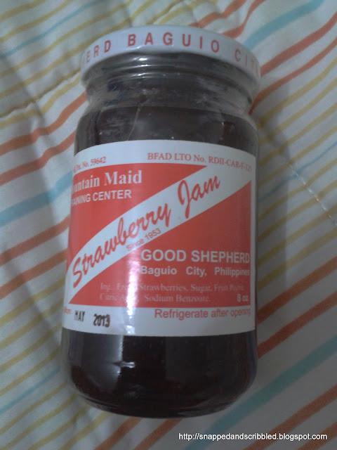 Good Shepherd Strawberry Jam