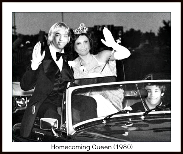 Yearbook Yourself Homecoming Queen