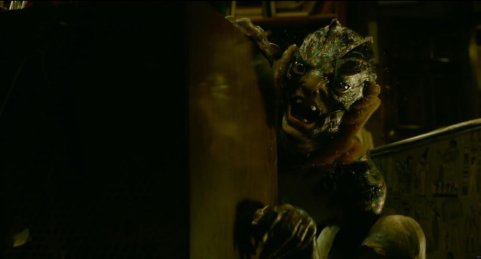 LA FORMA DEL AGUA, de Guillermo del Toro - la criatura