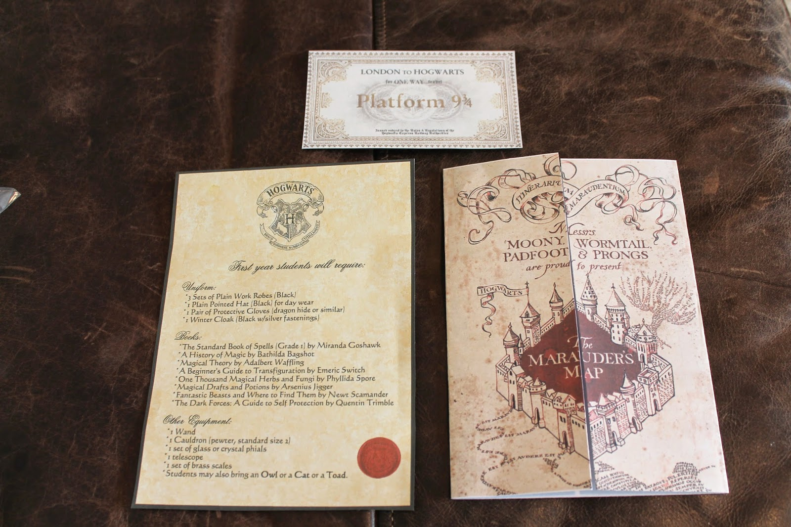 image relating to Hogwarts Sign Printable called Our Harry Potter occasion toss down