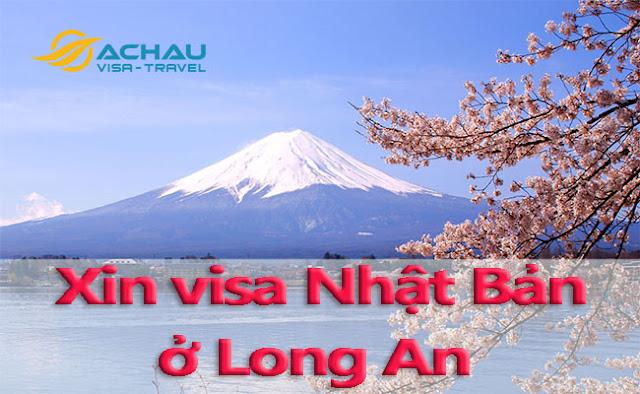Xin visa Nhật Bản ở Long An như thế nào ?
