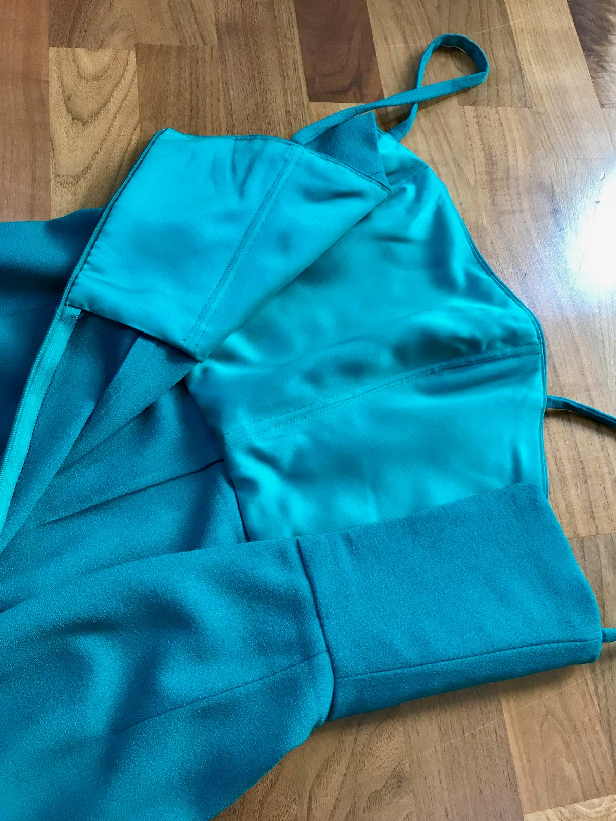 Diary of a Chain Stitcher : Emerald Green Party Dress