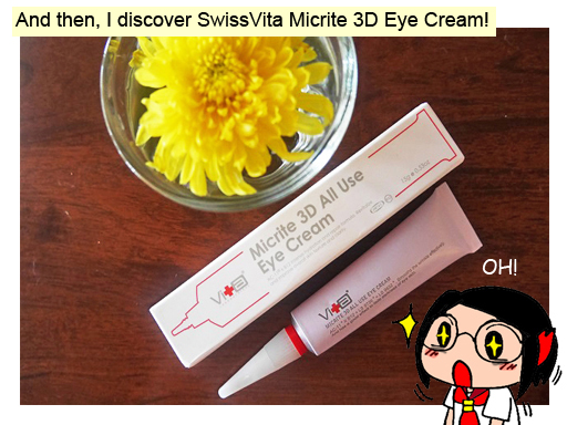 swissvita eye cream