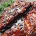 Costelinha de porco agridoce picante