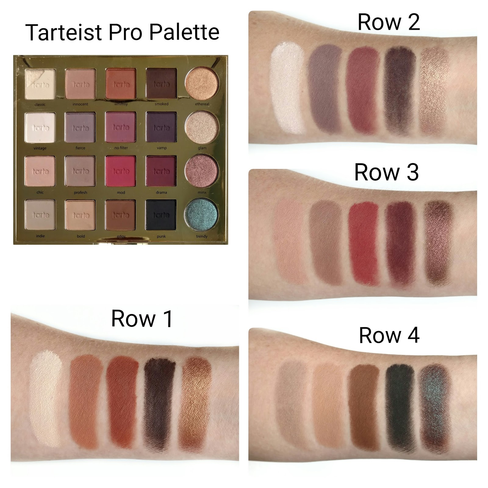 Tarte Tarteist Pro Palette Review | First Impression | The Budget ...