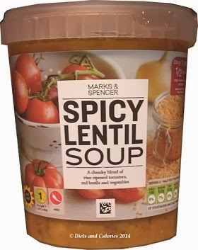 Marks & Spencer Spicy Lentil Soup