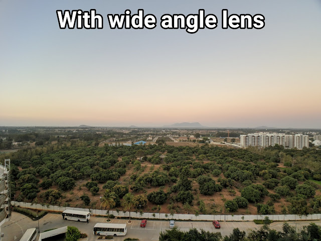 smartphone wide angle lens