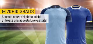 bwin promocion 10 euros City vs Everton 21 agosto