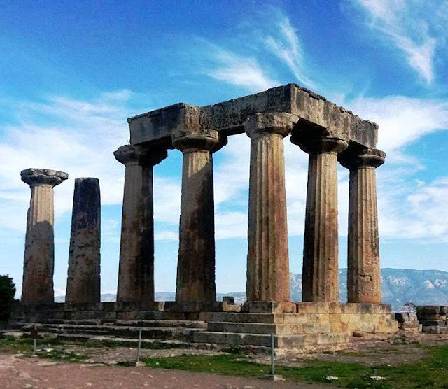 Temple of Apollo Ancient Corinth Greece Photo by Greeker than the Greeks