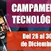 👪 CAMPAMENTO TECNOLÓGICO 26-30dic'16
