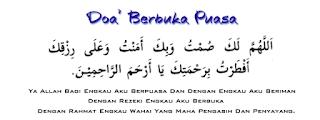 DP Doa Buka Puasa di Bulan Ramadhan Penuh Berkah