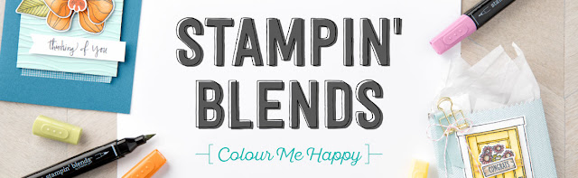 Stampin' Blends dual-tip colouring markers from Stampin' Up!