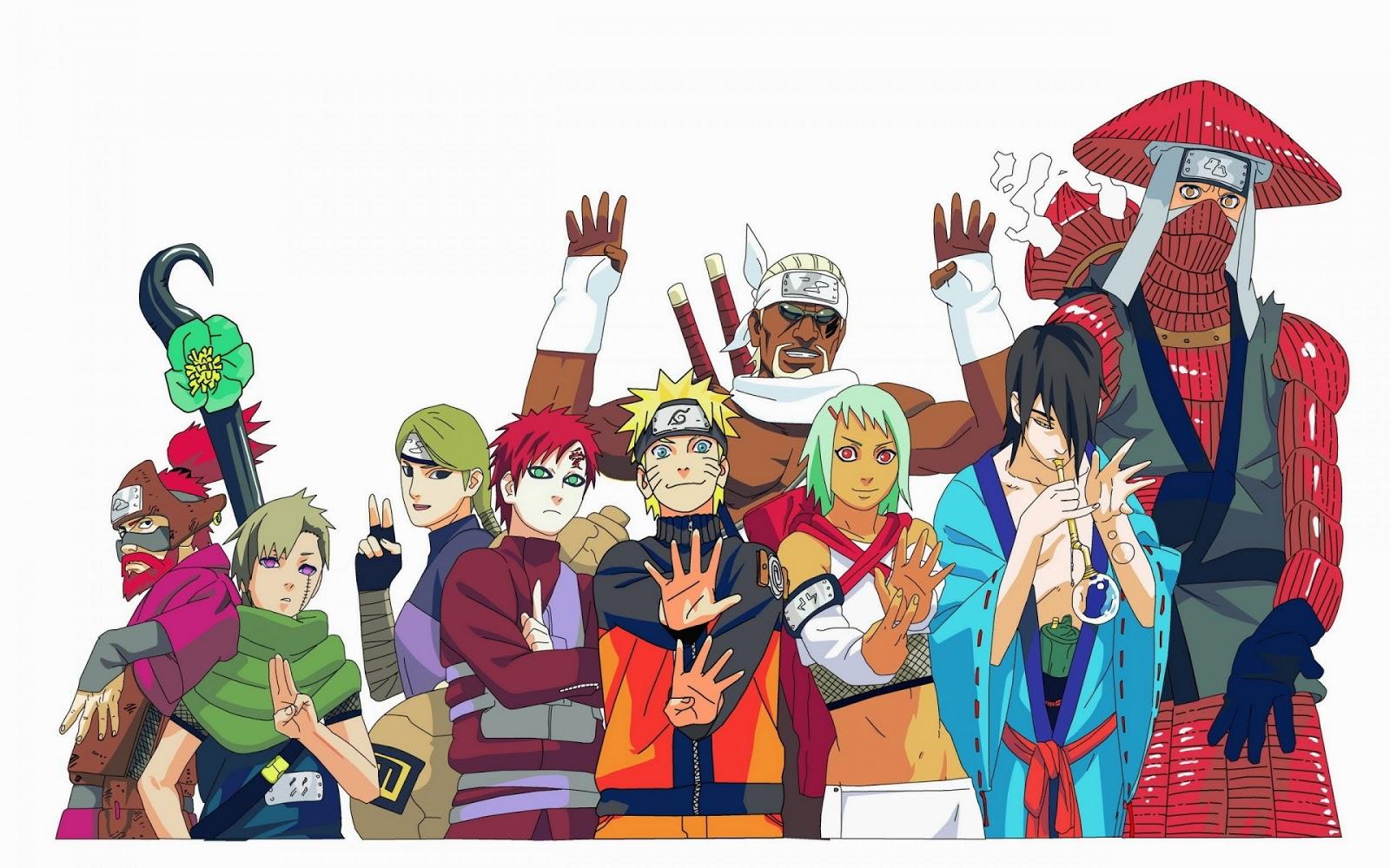 10 vĩ thú trong phim. Mình nhớ có tập mà Naruto cùng với các vĩ thú, Jin  nói chuyện với nhau rất cảm động. Và họ tin tưởng vào lựa chọn cũng ...