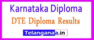 DTE Karnataka Diploma Results 2017