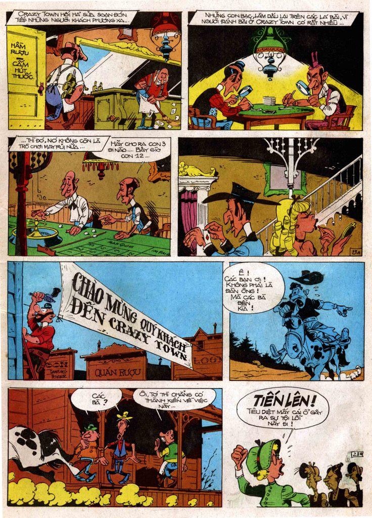 Lucky Luke tap 3 - doan lu hanh trang 22