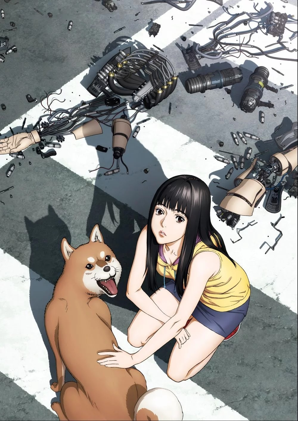 Inuyashiki Manga's Last Volume To B Released In September, And The Anime Adaptation In October.