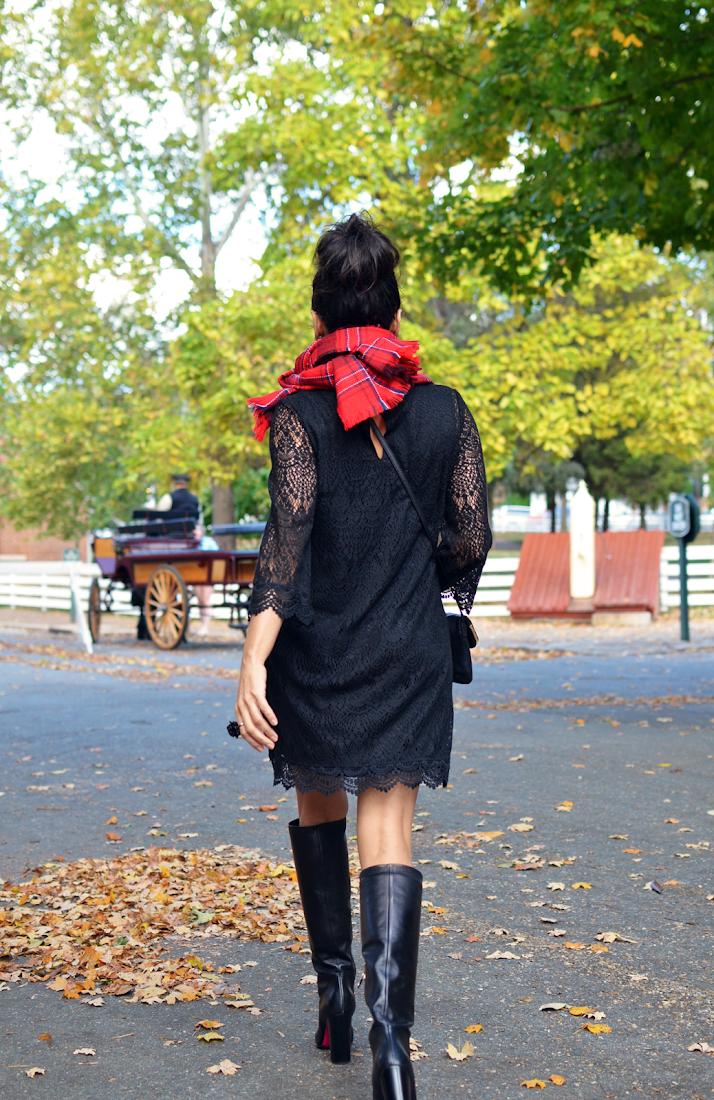 Black Dress Street Style