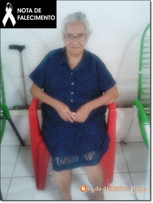 NOTA DE FALECIMENTO: Morre aos 93 anos, Brígida da Silva Almeida