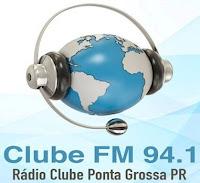 Rádio Clube FM 94,1 de Ponta Grossa PR