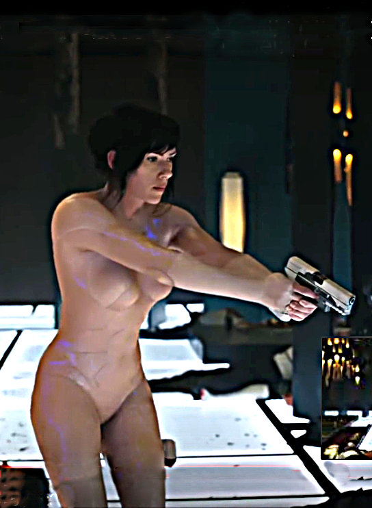 Scarlett Johansson, The Major in the Ghost in the Shell