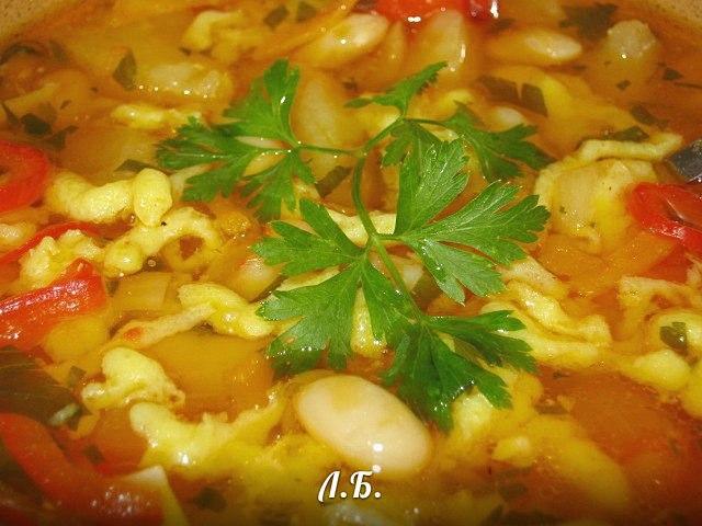 рецепт супа с фасолью по-закарпатски