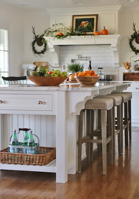 Woodland Thanksgiving Vignettes