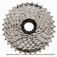 Cassette Sprocket Shimano CS-HG41-8 Mega Range 34Tao 8 Speed
