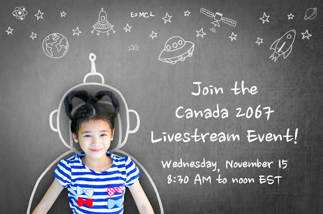 Join the Canada 2067 Livestream Event!