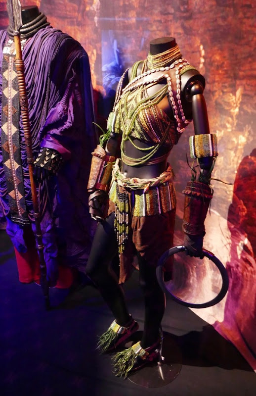 Black Panther Nakia River Tribe costume
