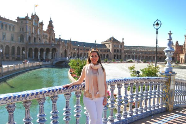 plaza españa seville spain