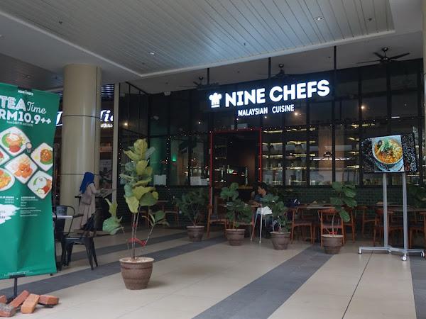Nine Chefs : Hidangan Melayu di IOI Mall,Putrajaya.