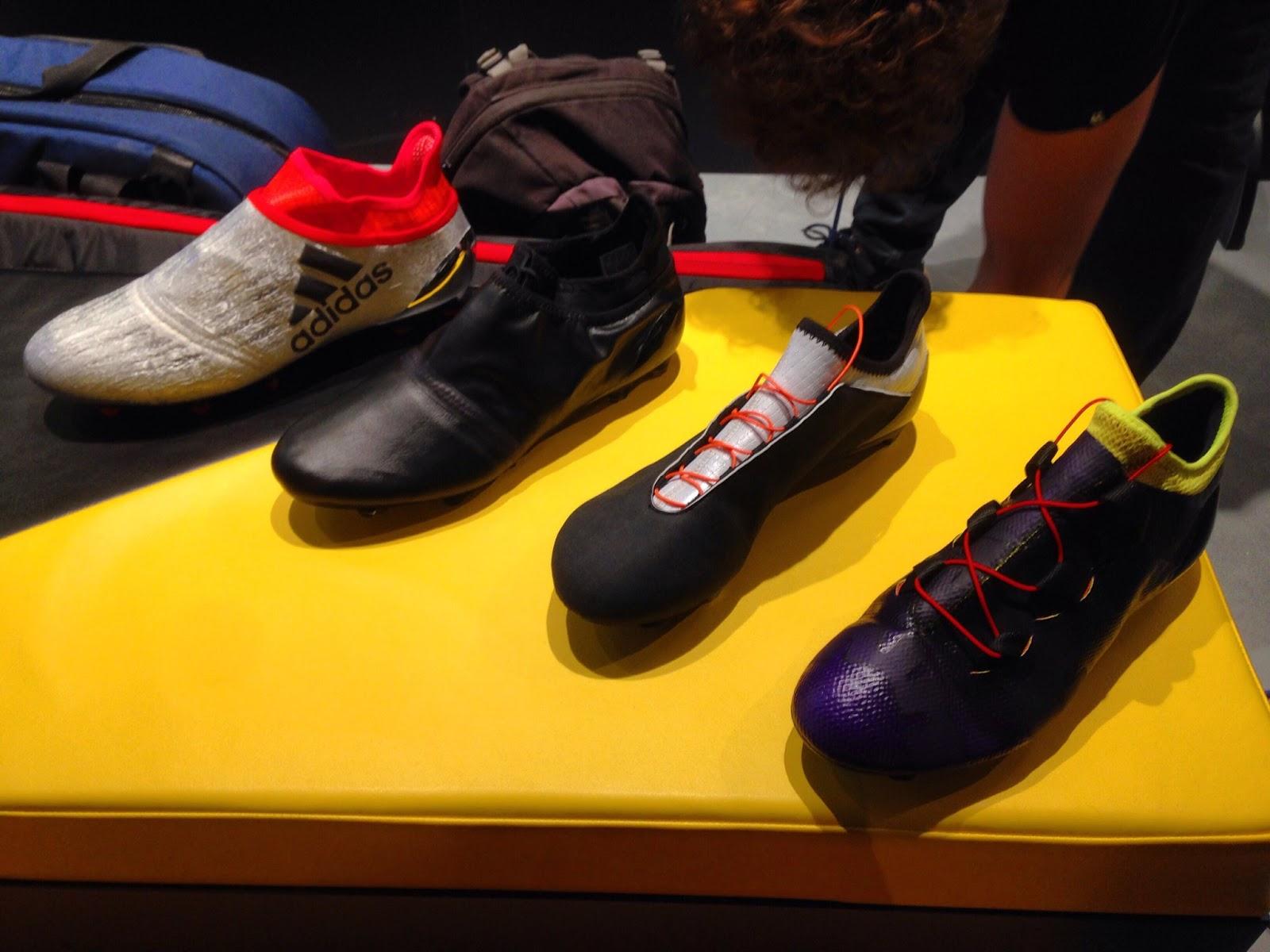Mẫu Prototype Adidas Messi và Adidas X