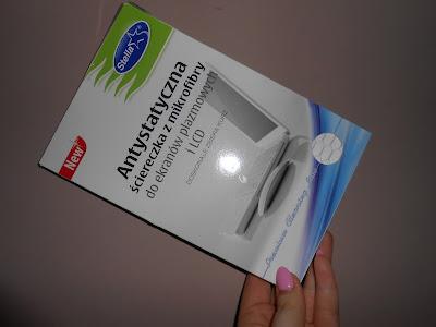 Stella Premium-  Antystatyczna ściereczka z mikrofibry do ekranów plazmowych i LCD