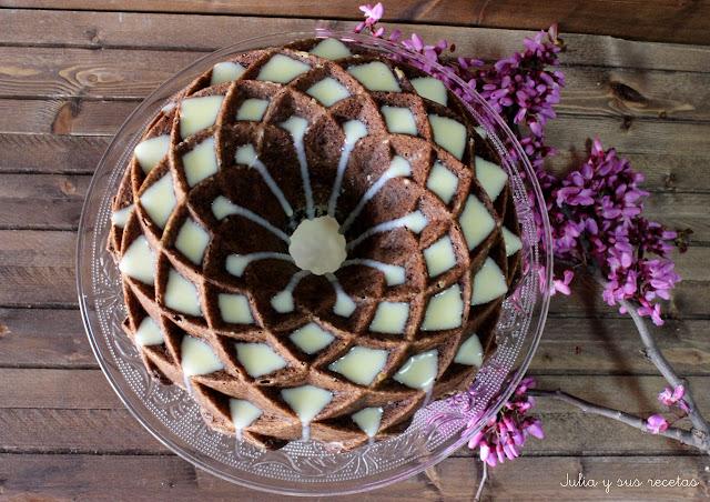 Bundt cake de remolacha y cacao. Julia y sus recetas