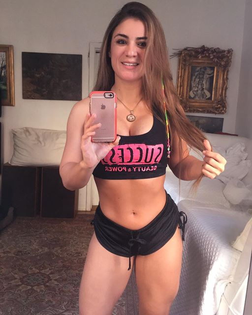Brazilian Debora Marinho Instagram photos