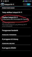 settingan hotspot WiFi