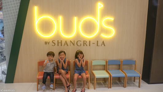 A new kid-friendly play space in the heart of the city {Review and Giveaway of Buds by Shangri-La}