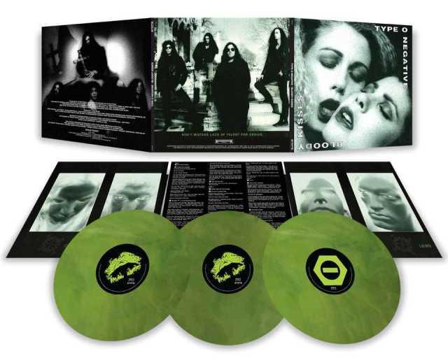 "TYPE O NEGATIVE: Έπανακυκλοφορία του ""Bloody Kisses"" σε τριπλό βινύλιο"