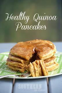 Healthy Quinoa Pancakes Recipe Gluten Free