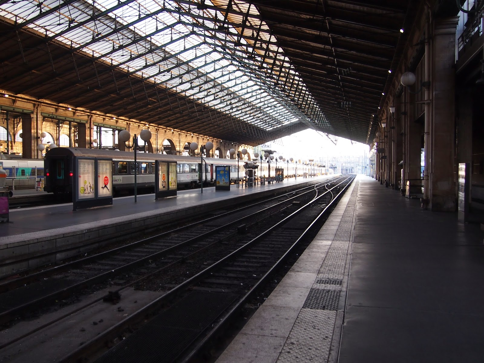 accident gare du nord