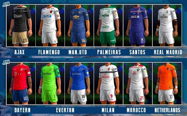 Mini Kitpack Update 02-05-2018 PES 2013